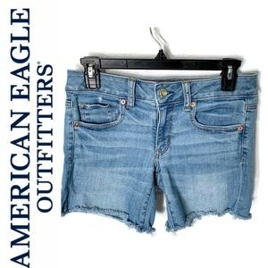 American Eagle Outfitters Cut Off Jean Shorts.
